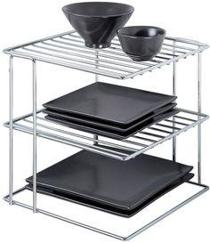 regal f r mikrowelle verstellbar chrom seitenorganizer mit haken zum aufh ngen coole. Black Bedroom Furniture Sets. Home Design Ideas