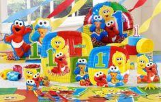 Sesame Beginnings 1st Birthday Deluxe Party Kit