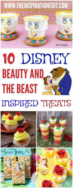 Check out these amazing Beauty and The Beast Inspired treats, from cookies and cupcakes to oreos and much more. These fantastic Disney inspired ideas are