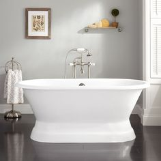 KOHLER Seaforth 4.5 Ft. Right Drain Soaking Tub In White | Tubs, Alcove And  Bath Tubs