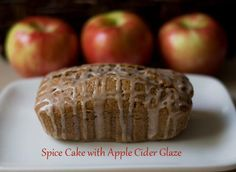 Spice Cake With Apple Cider Glaze by Simply Love Food