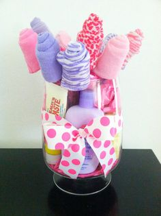DIY Baby Gift -- SUPER EASY  FUN TO MAKE! (Cost: $35 - $40 total)