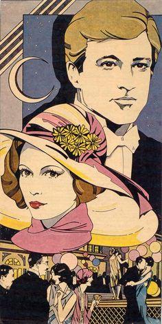 Art Great Gatsby deco the-roaring-20-s