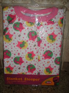 Barney Blanket Sleeper Pink Footed Pajamas Size 18 Months 24 Months 2T 4T New | eBay