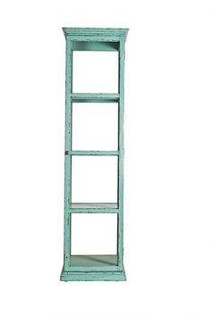 Tall Glass Display Cabinet (Two Colours)