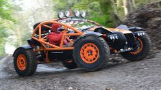 Ariel - The Nomad buggy - At its heart is a Honda-sourced 2.4-litre four-cylinder VTEC engine, here tuned to produce 235bhp at 7,200rpm, while serving up 221lb ft of torque. The result is a 0-60mph sprint of 3.4 seconds and a 136mph top speed...x
