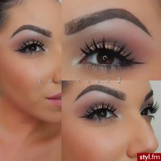 i really like this eye look. i love the matte eyeshadows so it looks kind of more professional