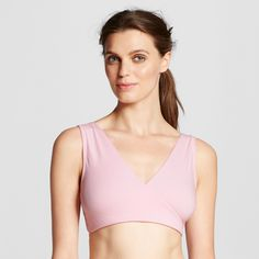 Lamaze Nursing Soft Sleep Bra - Light Pink XL