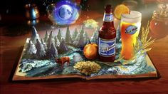 """Blue Moon """"Brewmasters Inspiration"""" by MOO studios. Director by Shaun Sewter at MOO. Blue Moon Beer, Beer Art, Brewing Co, Tv Commercials, Stop Motion, Motion Design, Craft Beer, Really Cool Stuff, Doodles"""