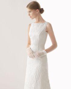 2014 Adble A-line Bateau Sleeveless Belt with Lace Wedding Dress