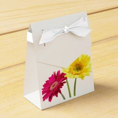 Daisy Delights Party Favor Boxes