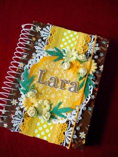 Scrap Space da Lelé: Agenda personalizada