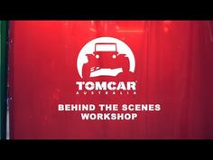 A quickly put together video giving a behind the scenes look at the making of our new Tomcar Australia video. This first part was shot in our welding bay and factory in Melbourne, Australia.