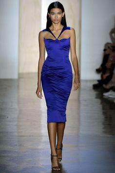 Love this designer...Cushnie et Ochs Spring 2013 Gorgeous dress and color