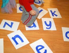 Scramble and Unscramble Letters: A learn to spell my name game - Kids Activities Blog