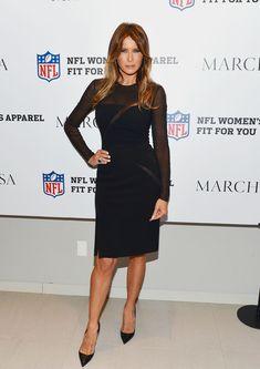 Melania Trump Little Black Dress - Melania Trump Looks - StyleBistro