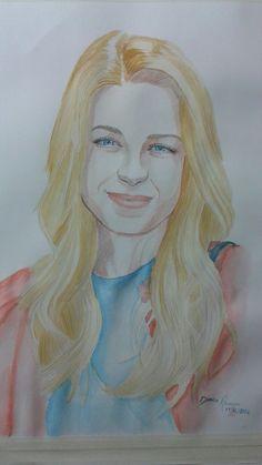 Watercolor super girl melissa benecult