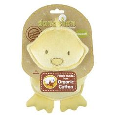 Amazon.com: Dandelion Classic Organic Toy Squeaker, Duck: Baby