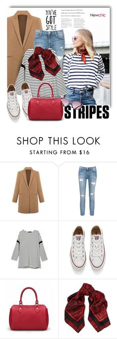 """""""Newchic.com: You´ve got style!"""" by hamaly ❤ liked on Polyvore featuring Current/Elliott, Converse, Roberto Cavalli, women's clothing, women's fashion, women, female, woman, misses and juniors"""