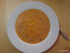 Trines Oppskrifter: Baconcheese suppe