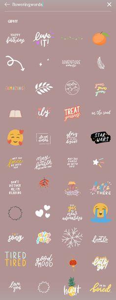 Instagram Emoji, Instagram And Snapchat, Instagram Quotes, Instagram Posts, Snapchat Emojis, Snapchat Stickers, Creative Instagram Stories, Instagram Story Ideas, Instagram Photo Editing