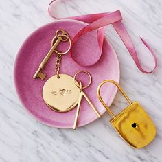 Under lock and key. This decorative Brass Love Lock is made of real brass and makes a great gift any time of year.