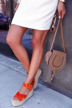 Editors Pick: A Céline y Pair of Orange Flatforms—For Under $100