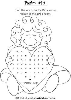 Bible Verse Games for Preschoolers for Psalm 119:105