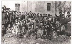 A group of Pontic Greek refugees at Corfu January 20 1923. Photo: Kentro MIkrasiatikon Spoudon.