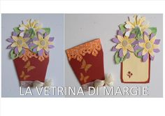 vase of flowers card