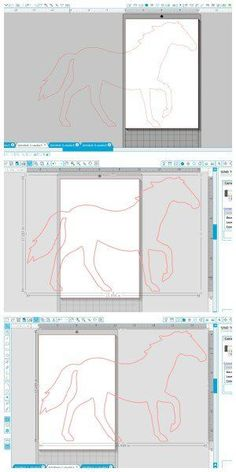 How to make a really big stencil with the Silhouette using Overlapping Stencil Segments