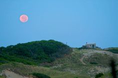 Cape Cod Moonrise. At the dune shacks of Provincetown, MA © Christopher Seufert Photography http://www.CapeCodPhoto.net/ Purchase a custom framed print of this image here http://www.imagekind.com/Cape-Cod-Moon-Rise-art?IMID=43dbd343-0abc-49b1-bf2c-ebb1a5c95346 — at Christopher Seufert Photography.