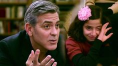 George Clooney meets Syrian refugees. It's imporant to remember that lots of great people around the glob are of refugee descent. #RealmToTheRescue