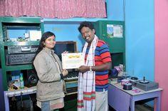 Award for documentary film LUGU BURU SANGHAR  (2013).