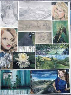 NCEA Art Painting Board One - Excellence Mona Lisa, Game Of Thrones Characters, Deviantart, Artwork, Boards, Photography, Painting, Fictional Characters, Google Search