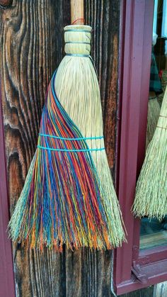 Brooms are simple and yet an elegant way of clearing your sacred space and help to move any negative energy. Wiccan, Magick, Pagan Witchcraft, Broom Corn, Witch Broom, Design Shop, Brooms And Brushes, Kitchen Witch, Kitchen Decor