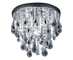 Plafoniera da soffitto in metallo gocce cromo Colore cromo  ad Euro 65.00 in #Trio lighting italia srl #Lampsluminaires lampsluminaires