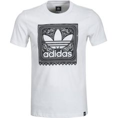 adidas Blackbird Paisley T-Shirt - Short-Sleeve ($26) ❤ liked on Polyvore featuring men's fashion, men's clothing, men's shirts, men's t-shirts, mens cotton shirts, mens paisley t shirt, mens short sleeve t shirts, mens t shirts and mens striped shirt