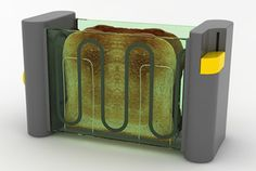 see-through toaster - innovative product
