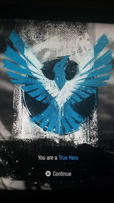 Infamous Second Son's true hero symbol reminds me of someone... - Imgur