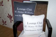 Mars & More Lounge Club Loungekissen inkl.Füllung Shabby Landhaus Shabby