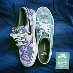 Nike SB Janoski Tie Dye-pack. Hmmm... I know what I'm asking for for Christmas.