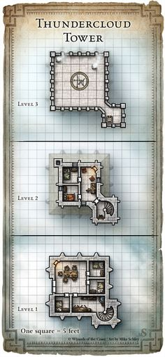 Dungeon #200 - Hall of the Fire Giant King; Map 5 (Digital DM & Player Versions)