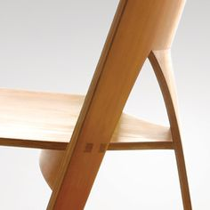 Nanna Ditzel: Chair, 1962 Made by Povl Christiansen. Oregon pine
