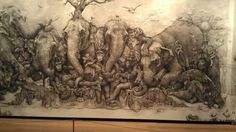 Adonna Khare - Elephants - ArtPrize Winner 2012 - A radically open art contest, Grand Rapids Michigan