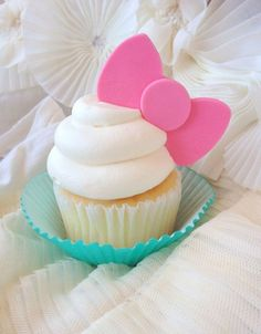 ✿◕ ‿ ◕✿ Hello Kitty Cupcake