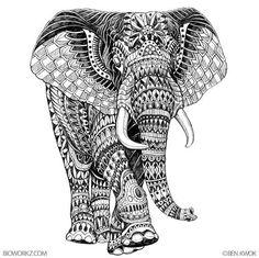 Elephant by BioWorkZ