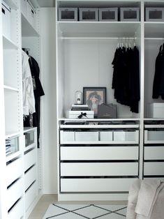 Kuistin kautta: WALK-IN CLOSET: Tyylikäs ja toimiva vaatteiden ja asusteiden säilytys