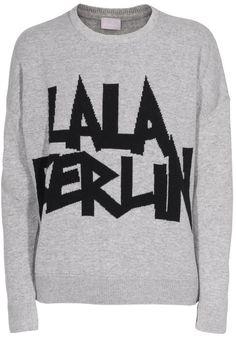 LALA BERLIN Hazel Heather Grey Luxury Shop, Cardigans, Sweaters, Heather Grey, Berlin, Pullover, Sweatshirts, My Style, Shopping