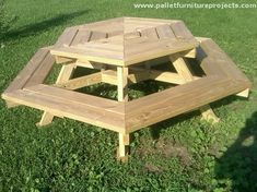 Pallet Furniture For Your Picnic Image Pallet Furniture Picnic Table Cosmoplastbiz